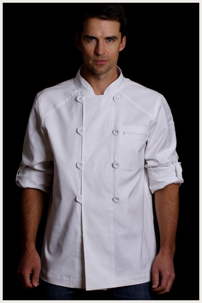 Shannon Reed - Designer Chef Jacket - Men's Steam