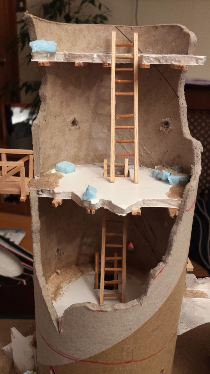 Tube Tower Terrain For Table Top Pinterest Towers