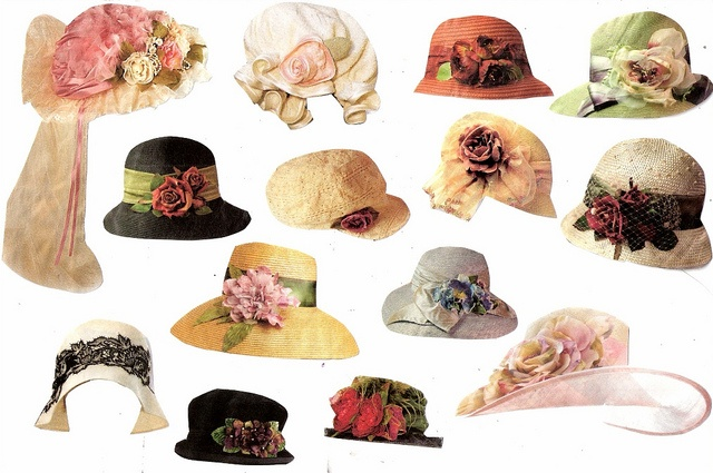 Hats from Victorian Trading Company catalog