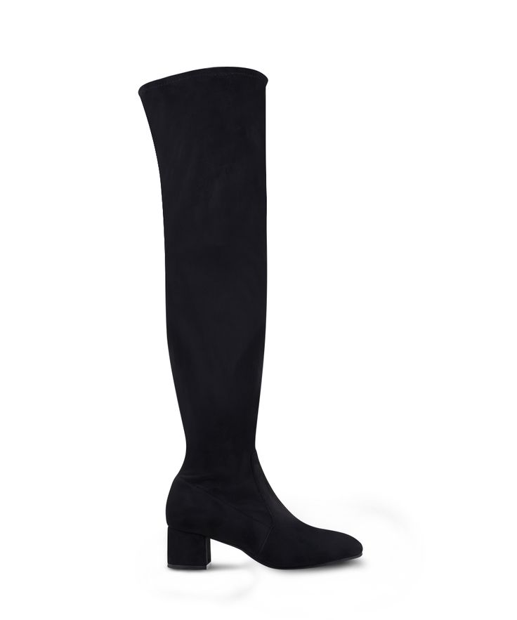 SANTE over the knee sock boot for winter urban walks... Black
