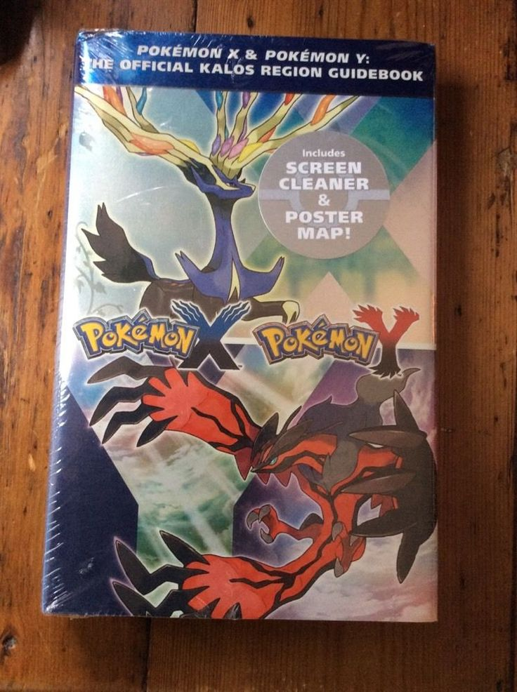 Brand New wrapped 1 Pokemon X & Pokemon Y The Official Kalos Region Guide book