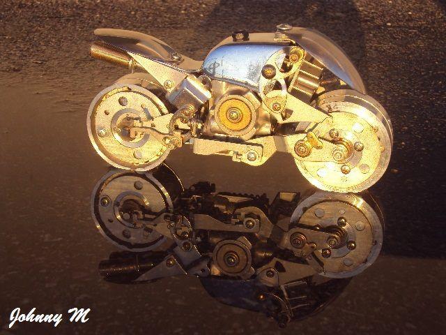 #model #scrap #art #custom