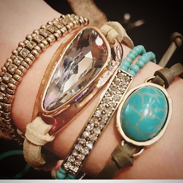 New jewelry anyone? Love this arm party! #premierdesigns #premiereveryday #armparty