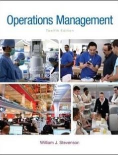 Operations Management free download by William J Stevenson ISBN: 9780078024108 with BooksBob. Fast and free eBooks download.  The post Operations Management Free Download appeared first on Booksbob.com.