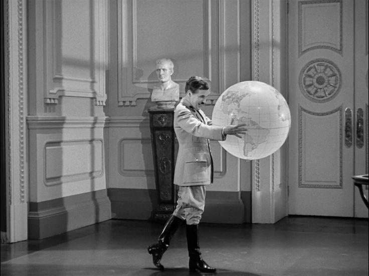 El gran dictador guión, producción y dirección, Charles Chaplin.