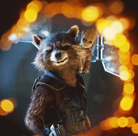 Omfg my friends and I saw this trailer at the Dr. Strange movie and we all squealed really loudly when we saw baby Groot... the people next to us have us the dirtiest glares
