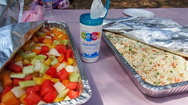 D a de picnic cumplea os de nataly picnics cocina for Ideas cocina rapida
