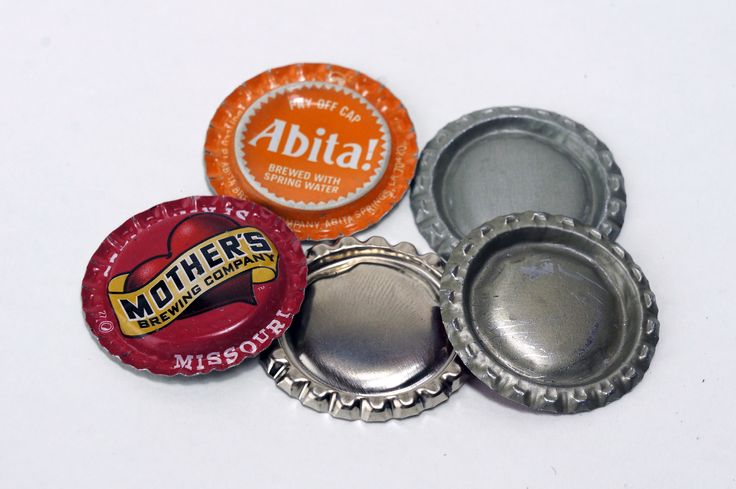 How to Flatten Bottle Caps, contributor good friend Jeff Farris.