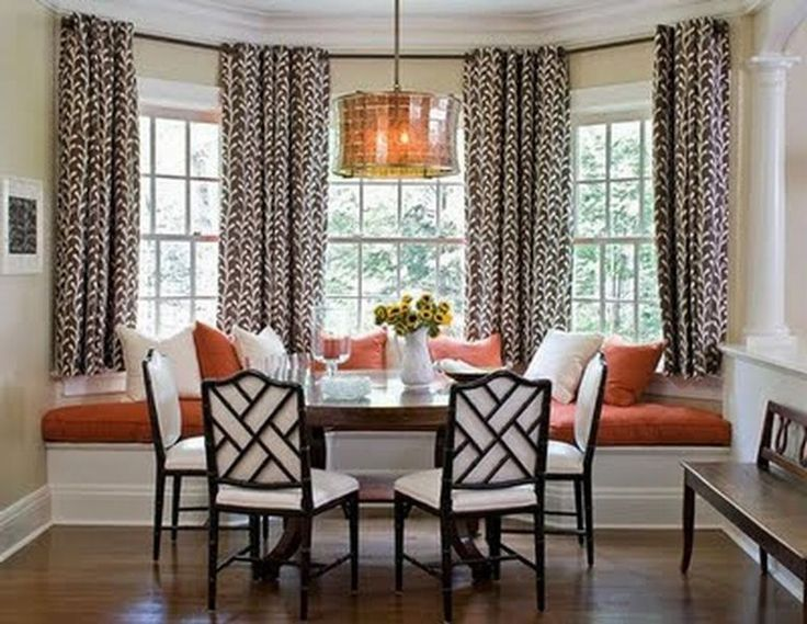 12 Photos Of The Ideas For Bay Window Curtains