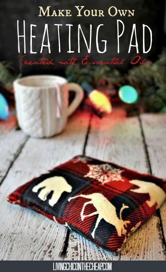 Make Your Own Heating Pad (Scented with Essential Oils)