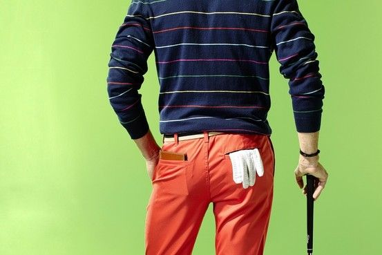 Clothes for on and off the Golf Course