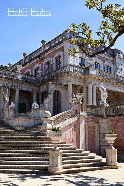 Queluz National Palace, Sintra Municipality, Lisbon District, Portugal - built in the 18th century