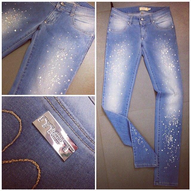 top met in jeans