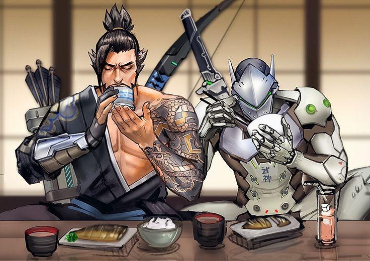 Let's just pretend Genji still needs to eat