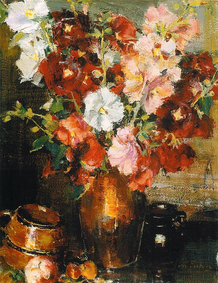 8503 best art flowers images on pinterest flowers for Nicolai fechin paintings for sale