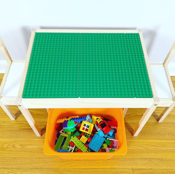Have you got a keen little builder at home? . Be their hero and make this DIY DUPLO Compatible Table using the $24.99 IKEA LATT Children's Table. . NO GLUE REQUIRED! . Click the link in our bio for all of the details. . #peelnstickbaseplates #lego #duplo #duplos #legos #legotable #legocreation #diy #finemotorskills #playbasedlearning #learningthroughplay #handsonlearning #playmatters #buildingbricks #playideas #stem #steam #openendedtoys #toys #educationaltoys #legostagram #brickcentral…