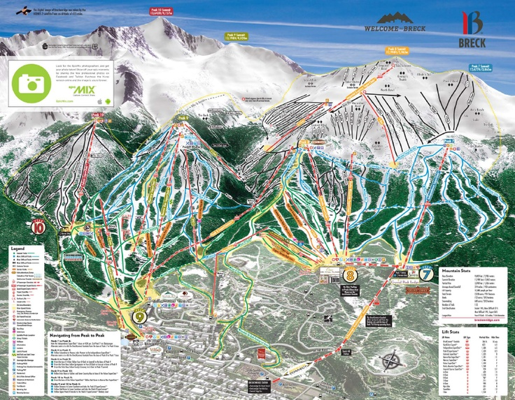 Breckenridge ski map. All the more reason for me to move here :)