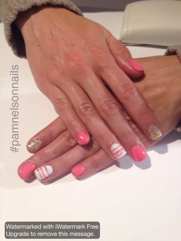 LCN Gel Nails. By Pam Nelson