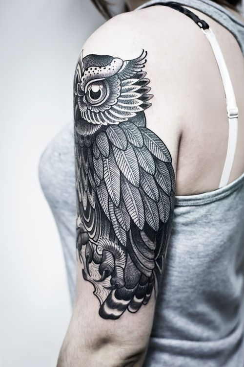 #tattoo #ink #owl