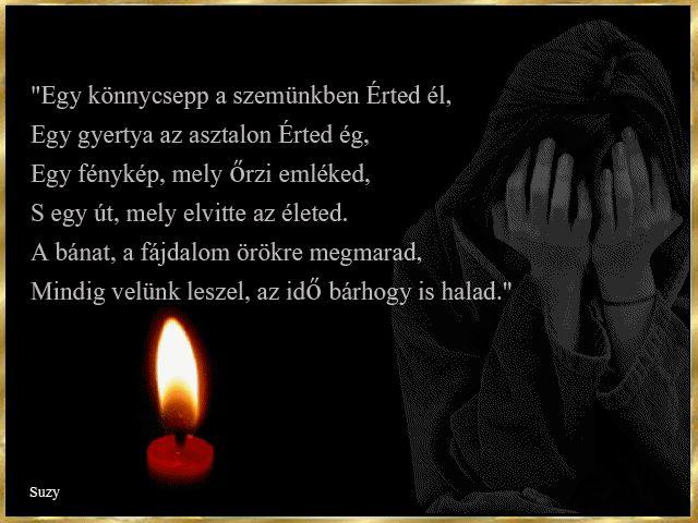 Gyász, Mindenszentekre..