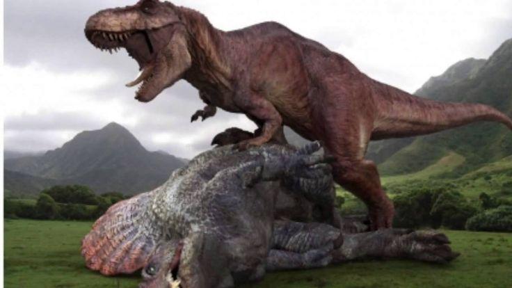Jurassic world Leaked info T-Rex vs Spinosaurus vs D-Rex - YouTube ...