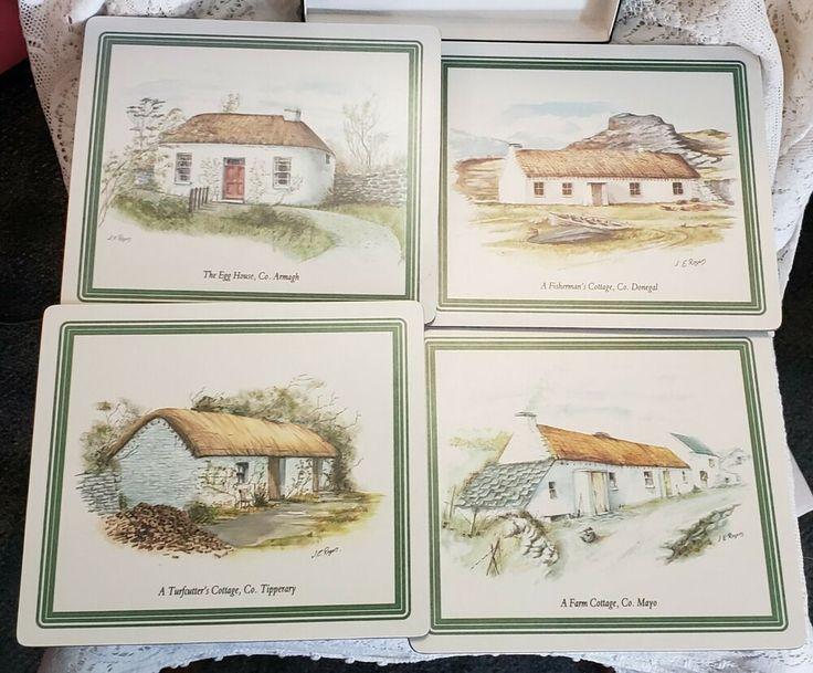 Ireland lucan designers irish cottages melamine table mats