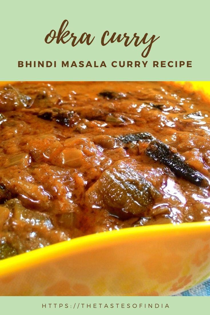 Bhindi Masala Curry Recipe Curry recipes, Masala curry