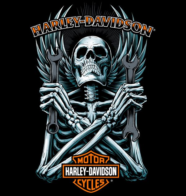 Harley-Davidson Illustrations | Abduzeedo Design Inspiration                                                                                                                                                                                 Mais