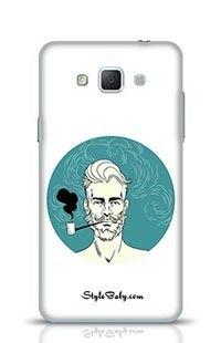 Smoking Man Samsung Galaxy A5 Phone Case