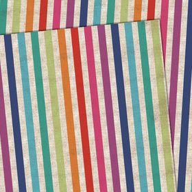 GWF189 Stripes folded gift wrap (matching tag available) www.gailscards.com.au