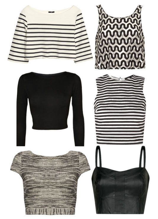 6 awesome crop top styles you NEED to try.