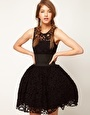 Enlarge ASOS Prom Dress in Lace With Elastic Waist