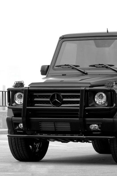 mercedes g series, favorite car in the world!
