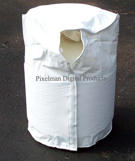 Adco Propane Tank Cover Single 20 Lb White for Camper RV Gas Grill Cylinder  #ADCO