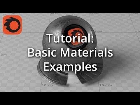 Tutorial: Basic Materials Examples - YouTube