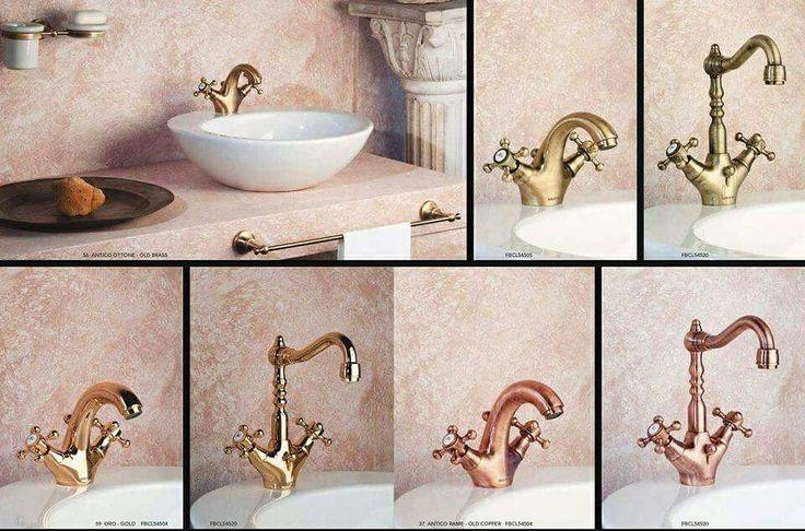 #Classica è la linea di #rubinetti #GUGLIELMI dal sapore #antico, adatta sia ad ambienti #classici, sia agli #ambienti #vintage. Acquistabili online su www.italiarredo.eu http://italiarredo.eu/23-bagno #design #qualità #MadeInItaly #tap #EccellenzaItaliana #Bathroom #ItalianFurniture #BathroomDesign #mixer #classics #ShopOnLine