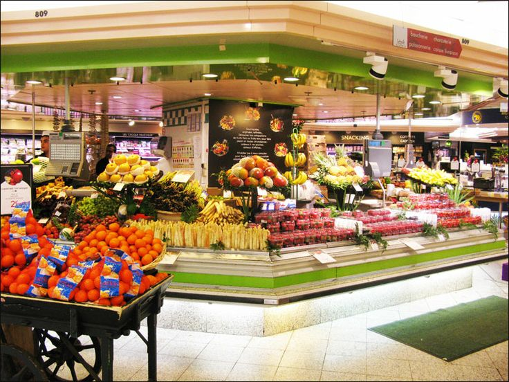 Food shopping at Lafayette Gourmet – Galeries Lafayette Haussmann