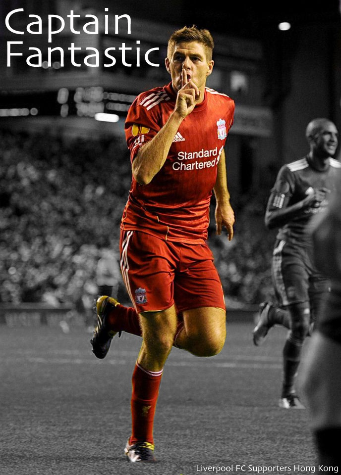 People look up to legend.. Legend look up to Steven Gerrard