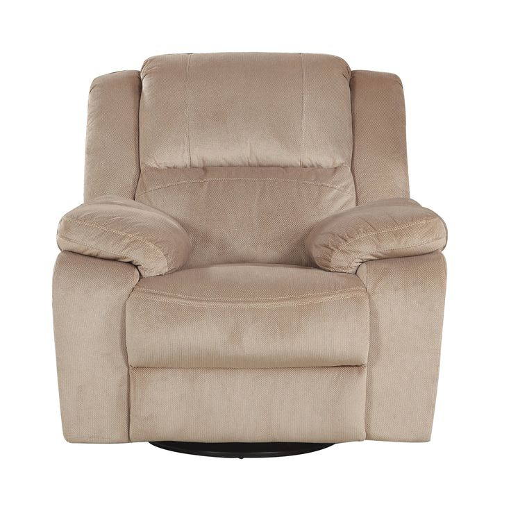 Perfect Oversize Brush Rocker And Swivel Recliner Living Room Chair Part 12