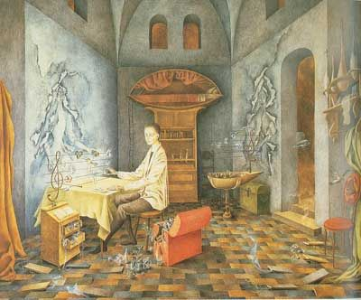 Remedios Varo,  Harmony Fine Art Reproduction Oil Painting