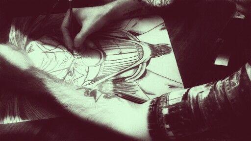 Draw tatto