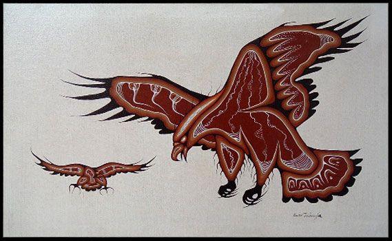 eagle wood vintage patterns