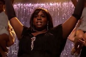 LOVED Alex Newell's debut on Glee as Unique. Wow!