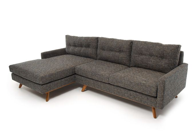 For my sectional-loving husband; I think this is one that I can actually live with. | Fillmore Sectional - Thrive Furniture