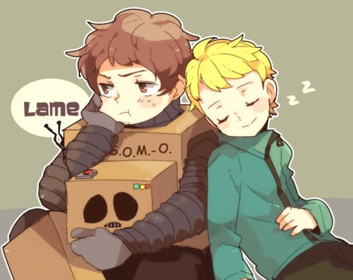 Cartman and butters