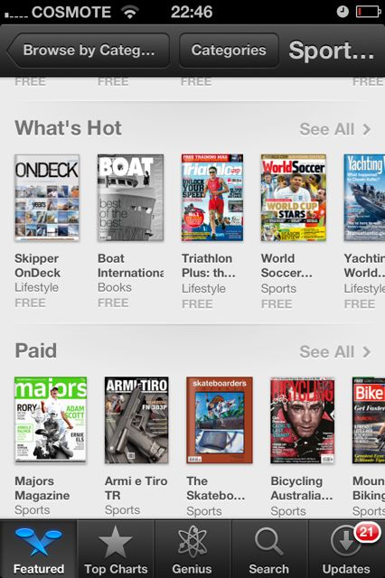 What's Hot | Appstore