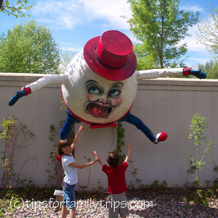 One-week family-friendly trip to Black Hills - picture taken at Storybook Island in Rapid City