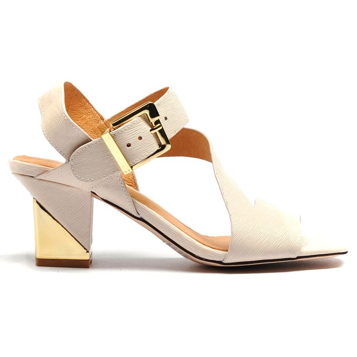 Terri by Top End. #topendshoes #cinorishoes #cinori #midheel #gold #buckle #blockheel #races #comfortableshoes #comfort #timeless #style #fashion #shoes #beige