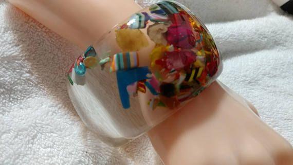 SALE Sobral Signed 2'' Preterito Perfeito Bangle
