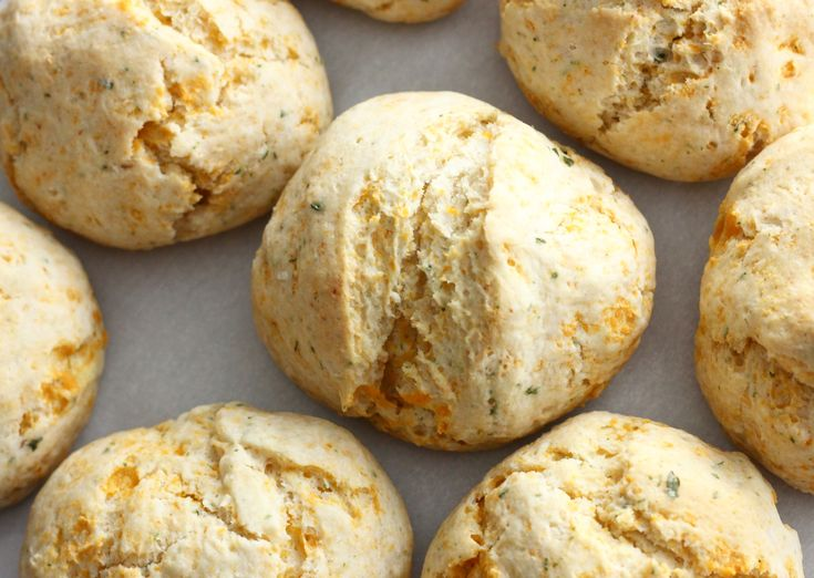 These Vegan Cheddar Garlic biscuits easily rival the ones you may have eaten at …